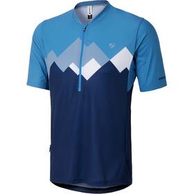 Ziener Esler Maillot de cyclisme Homme, antique blue